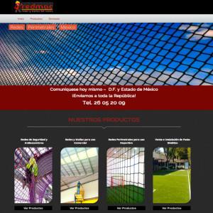 Diseño de páginas web en México D.F. para Redmac