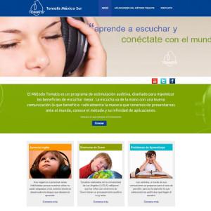 Diseño de páginas web en México D.F. Tomatis México