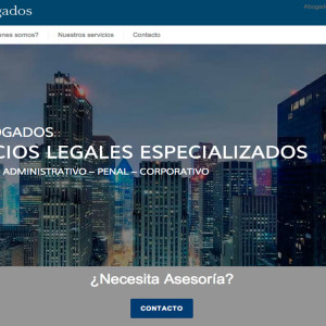 Diseño de páginas web - GSN Abogados