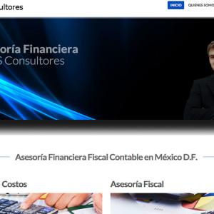 Diseño de páginas web - SABS consultores