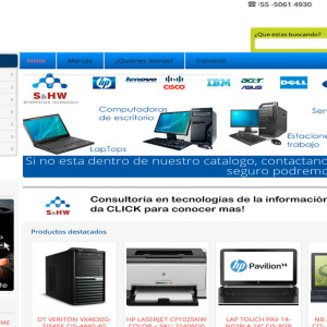 Diseño de página web - Tienda de Cómputo
