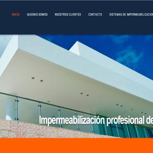 diseño web impermeabilizacion de techos