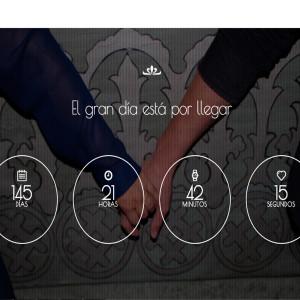 diseno de paginas web nuestra boda